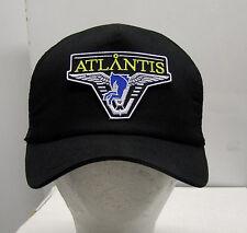 STARGATE ATLANTIS Dark Blue Logo Baseball/Trucker Cap/Hat Black Cap-FREE S&H