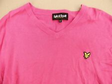 J40 Original LYLE & SCOTT cotton jumper sweater, size M, cond. EX!