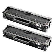 2 PK MLT-D111S Black Toner Cartridge For Samsung Xpress SL M2020 M2020W M2022W