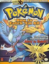 Pokemon: How To Catch 'Em All (Prima Official Game Guide), Black, Fletcher, Acce