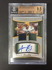 2005 Exquisite Aaron Rodgers 2 CLR Dual Patch Auto RC 146/199. BGS 9.5 (4-9.5's)