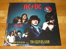 """AC/DC """"HIGHWAY TO CLEVELAND"""" 1977 - RED VINYL LP + CD"""