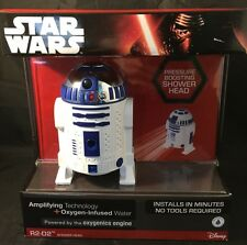 Disney Limited Edition, Star Wars Force, R2D2, R2-D2 Shower Head, Oxygenics, NIB