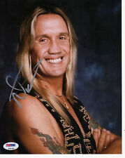 Nicko McBrain Iron Maiden  Autograph Signed 8x10 Photo Pic PSA DNA COA Certified