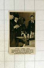 1920 State Jumble Sale For Disposal Of War Stock Bully Beef To Axes
