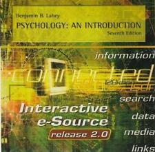 Psychology: An Introduction: Interactive E-Source Release 2 7th PC MAC CD media