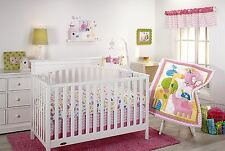 NEW Little Bedding by Nojo FOREVER FRIENDS 10 Piece Crib Bedding Set Girls NIP