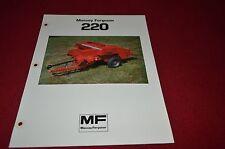 Massey Ferguson 220 Baler Dealer's Brochure DCPA2