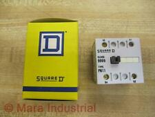 Square D 9999-PN-11 Auxiliary Contact 9999PN11 (Pack of 10)