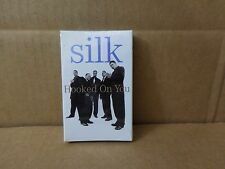 SILK HOOKED ON YOU FACTORY SEALED CASSETTE SINGLE