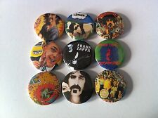 9 Frank Zappa Pin Button badges Cosmik Debris Bobby Brown Mothers of Invention