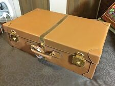 Rare Gucci Rolls Royce Hard Side Suitcase Luggage With Protective Cover