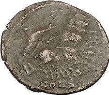 CONSTANTINE I the GREAT Heaven Chariot Ancient Roman Coin Deification  i37506