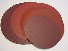 230mm Self Adhesive / Sticky Backed Sanding Discs P 60 Grit Pack of 5
