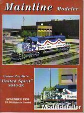Mainline Modeler Nov.94 Up Union Pacific United Spirit SD40-2R PS-2CD Hopper