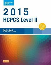 2015 HCPCS Level II Professional Edition by Carol J. Buck (2014, Spiral)