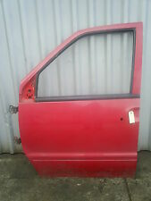 n/s front door removed from a x reg nissan vanette /serena/ ldv cub