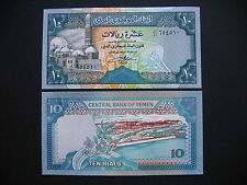 YEMEN ARAB REPUBLIC  10 Rials 1992  (P24)  UNC