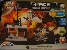 Space Asteroid Command 113 Piece Construction Building Play Set NEW Free Ship