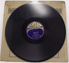 "LYS ASSIA : O MEIN PAPA / PONYLIED 78 rpm 10"" Record"