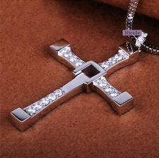 The Fast and the Furious Dominic Toretto's Cross Pendant Necklace NF45