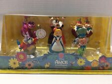 DISNEY PARKS Store Alice In Wonderland Figurine Play Set Figure Cake Topper NEW