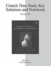 Study Guide to accompany Essential Statistics in Business and Economics