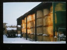 POSTCARD B52-15 BERKSHIRE BARN FULL OF HAY AT HURLEY - COVERED IN SNOW