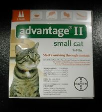 ADVANTAGE II for SM CATS 5 - 9lbs 2pk (2 doses) U.S EPA APPROVED