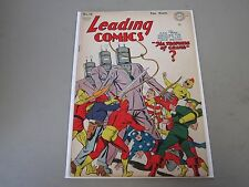 Leading Comics #13 Comic Book 1944  Classic Robot Cover