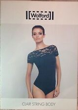 wolford String Body Medium Black Brand New