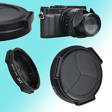 Panasonic Lumix DMC-LX100 Leica D-Lux Self-Retaining Auto Lens Cap JJC ALC-LX100