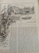 A1-6 Ephemera 1890s Article George Newnes Monte Carlo The Great Gambling Palace