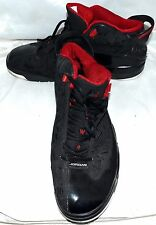 Air Jordan 311046-061 Dub Zero 2009 Black Varsity Red White Mens Shoes Size 13