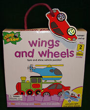 Puzzle Chimp and Zee Wings and Wheels  Ages 3 to 5 Years 4 2-Piece Puzzles  995