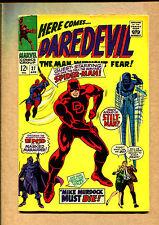 Daredevil #27 - Spiderman Cross-Over! - 1966 (Grade 5.0) WH