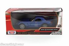 2003 Dodge Viper SRT/10 Hard Top 1:24 scale diecast model Motormax 73290BU/6
