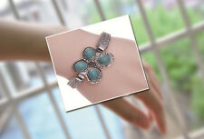 Charm Turquoise Lovely Cute Butterfly Bracelet Fashion Retro Bangle Punk Jewelry