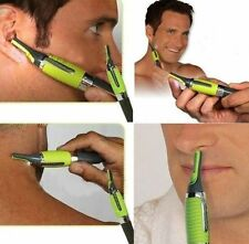 Grooming Kit Professional Personal Hair Trimmer Ear Nose Mustache Beard Green