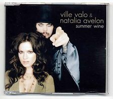 Ville Valo Natalia Avelon Maxi-CD Summer Wine - HIM - EU 4-track incl. video