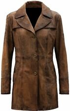 Batman Vs Superman Nightmare Distressed Brown Real Leather Coat - All Sizes