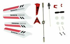 US New Full Set Replacement Spare Parts for Syma S107 RC Helicopter Red