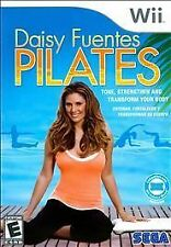 WII DAISY FUENTES PILATES NEW EXCERCISE VIDEO GAME New - Sealed