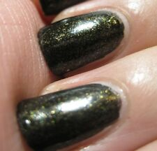 NEW! Ciate Paint Pots Nail Polish Lacquer TWILIGHT ~ BLACK + GOLD MICRO GLITTER