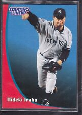 1998  HIDEKI IRABU - Starting Lineup Card - New York Yankees