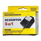New AC Adapter for NES, SNES & Genesis Systems - Super Nintendo Power Cable Cord