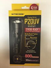 BRAND NEW NITECORE P20UV 800 Lumen Flashlight