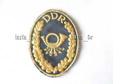 DDR Aufnäher für Post office- Uniform East german Patch Allemagne Est ecusson (b