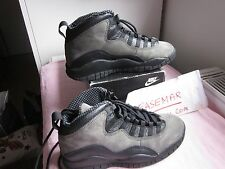 1994 Nike air Jordan 10 X shadow 130209-001 sz 7us ORIGINAL DS RARE LEBRON