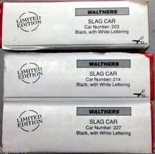 WALTHERS 932-3141 SLAG CAR 3-PACK LIMITED EDITION # 203, 214, 227